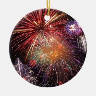 Fireworks Finale Christmas Ornament