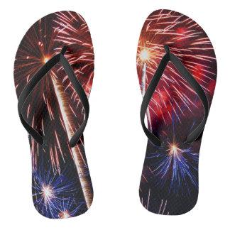 Fireworks Finale Flip Flops