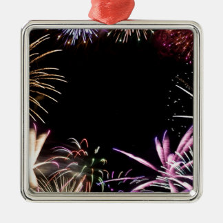 Fireworks Grand Finale Christmas Ornament