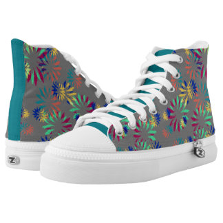 Fireworks High-Tops by idyl-wyld creative Printed Shoes