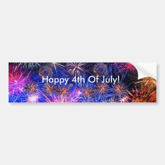 Fireworks image for Bumper Sticker