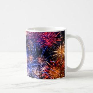 Fireworks image for Classic White Mug