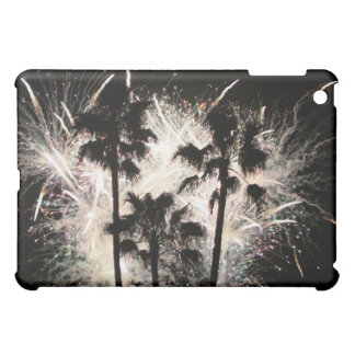 fireworks in palm trees.jpg case for the iPad mini