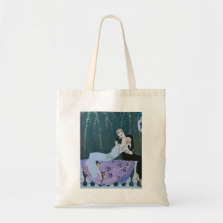 Fireworks in Paris Art Deco Tote Bag
