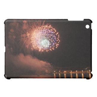 Fireworks iPad Case - Orange Fireworks