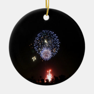fireworks light joy christmas ornament