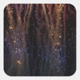 Fireworks Light the Sky Fourth of July Sticker