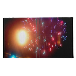 Fireworks Lights In The Sky iPad Case