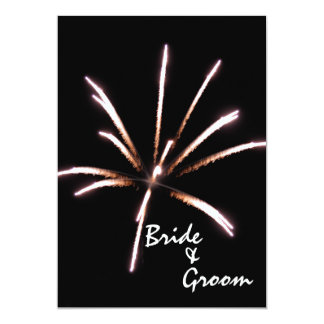 Fireworks Marriage / Elopement Announcement