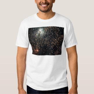 fireworks meteor splash big display t shirts