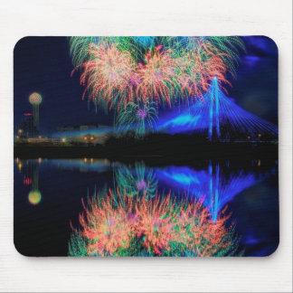 Fireworks Mouse Mat