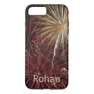 Fireworks Name iPhone 7 Plus 7 6 5 Samsung Case