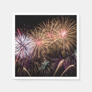 Fireworks Napkin Paper Napkin