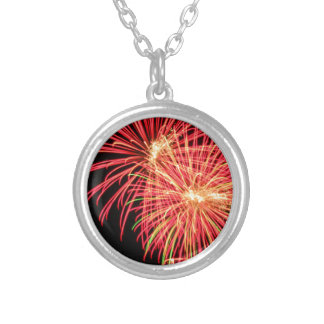 Fireworks Personalized Necklace