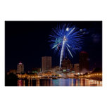 Fireworks Over Rochester Posters