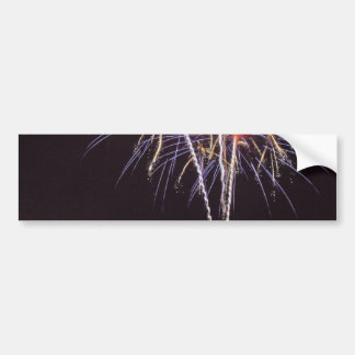 Fireworks Over San Diego Bay On The Fourth Of July Bumper Stickers