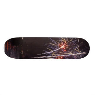 Fireworks Over San Diego Bay On The Fourth Of July Skate Deck