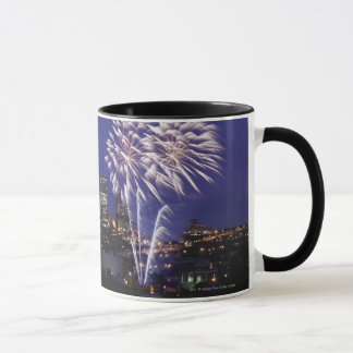 Fireworks Over The City Mug