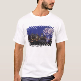 Fireworks Over The City T-Shirt