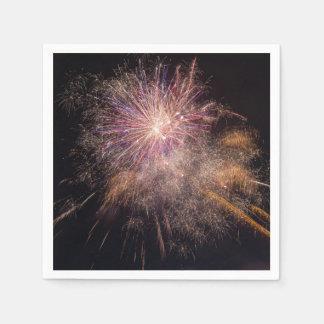 Fireworks paper napkins paper napkin