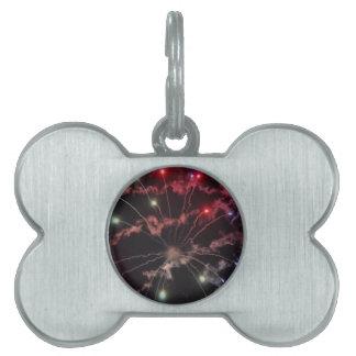 fireworks pet tag