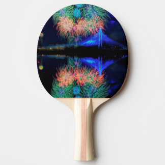Fireworks Ping Pong Paddle