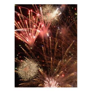 Fireworks (Postcard) Postcard