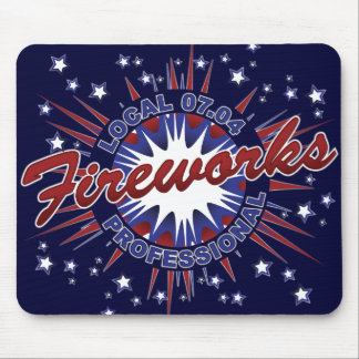 Fireworks Professional Mousepad