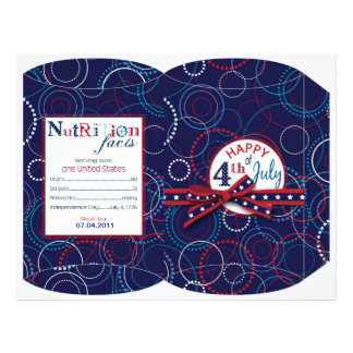 Fireworks Puff Box Personalized Flyer