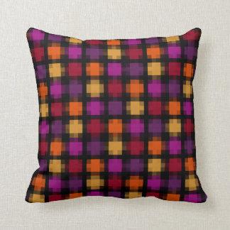 Fireworks Purple Pixel Cushion