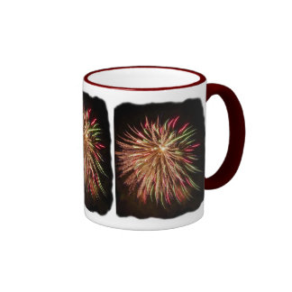 Fireworks rainbow Mug