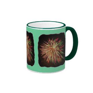 Fireworks rainbow Mug - customized