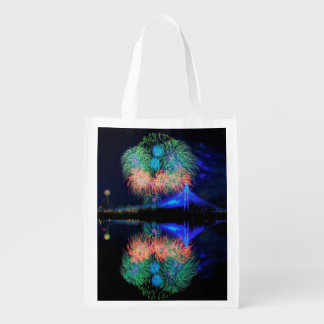 Fireworks Reusable Grocery Bag