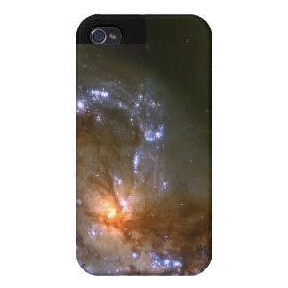 Fireworks Show in Collision of Antennae Galaxies iPhone 4 Cover