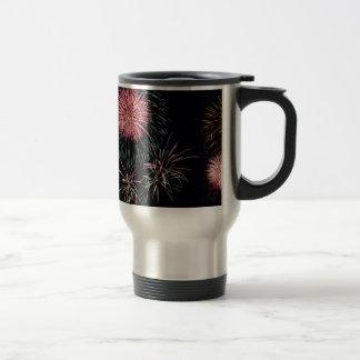 Fireworks Stainless Steel Travel Mug