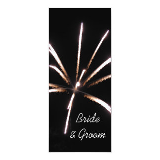 Fireworks Wedding Invitation