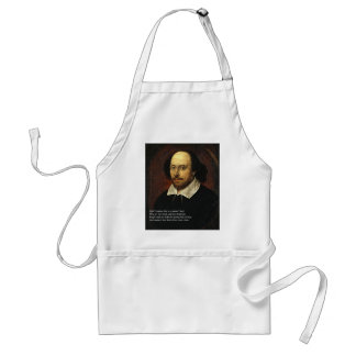 First 4 Lines of Sonnet # 18 by Shakespeare Standard Apron