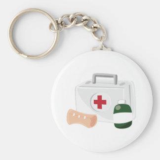 First Aid Key Chains