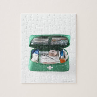 First aid kit. jigsaw puzzle