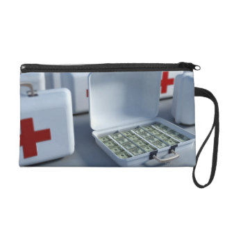 First Aid Kit Wristlet Clutch