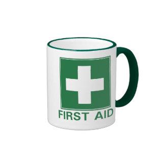 First Aid Ringer Mug