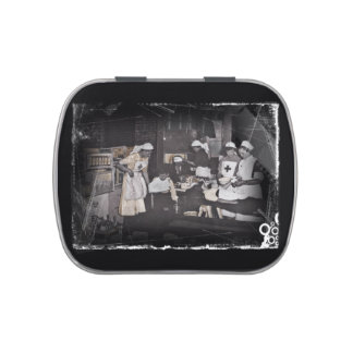 First Aid Station Nurses WWI Jelly Belly Tins