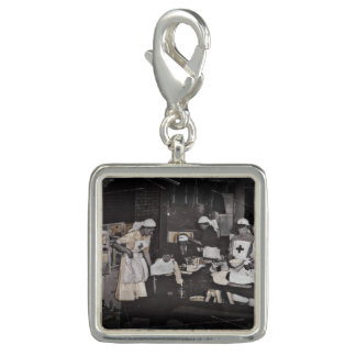 First Aid Station Nurses WWI Charms
