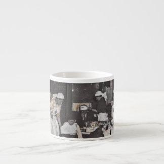First Aid Station Nurses WWI Espresso Mugs