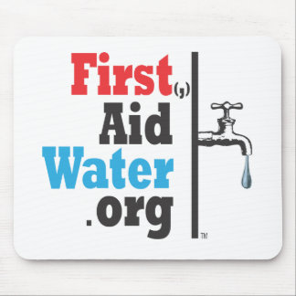 First Aid Water Logo Edition Mouse Pad