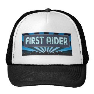 First Aider Marquee Trucker Hats
