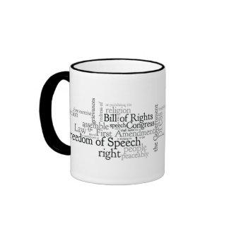 First Amendment Free Speech: Journalist, Lawyer's Mug