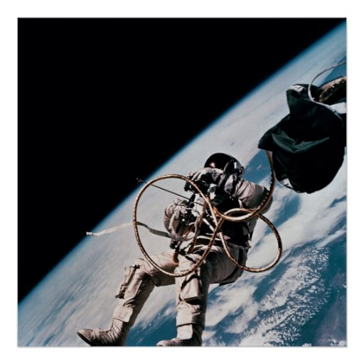 First American Spacewalk (Gemini 4) Poster