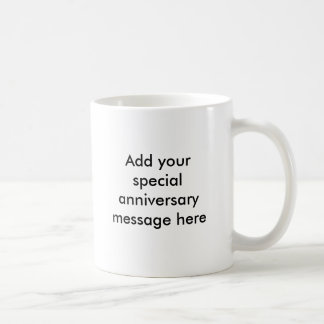 First Anniversary Gift Ideas Coffee Mug