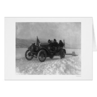 First Auto from Dawson to Whitehorse, Alaska 1912 Greeting Cards